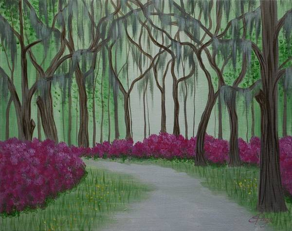 Painting - Savannah Spring by Emily Page