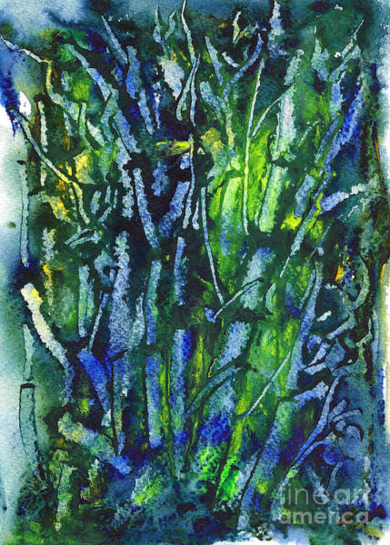 Painting - Save Forests by Asha Sudhaker Shenoy