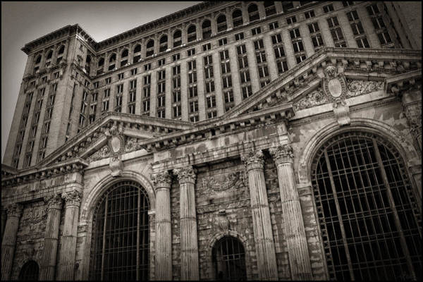Manuel Wall Art - Photograph - Save The Depot - Michigan Central Station Corktown - Detroit Michigan by Gordon Dean II