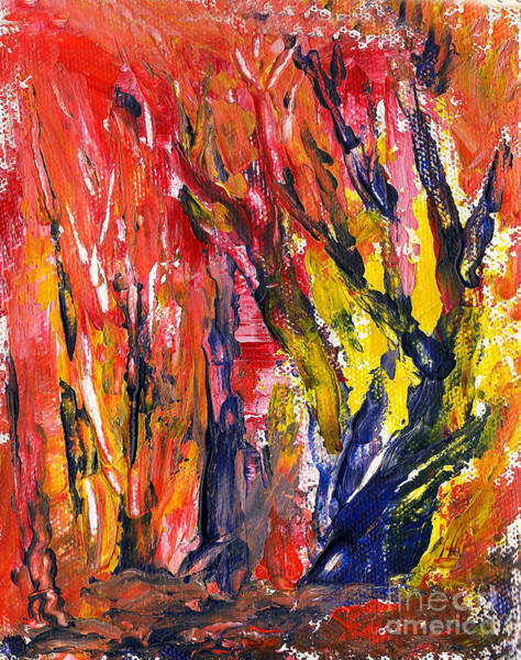Painting - Save The Forest by Asha Sudhaker Shenoy
