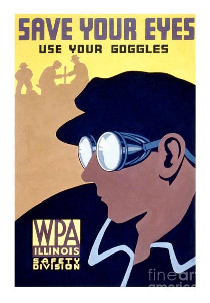 Goggles Wall Art - Photograph - Save Your Eyes by Jon Neidert