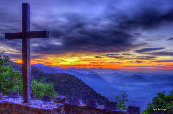 Photograph - Saving Grace The Cross Pretty Place Chapel Art by Reid Callaway