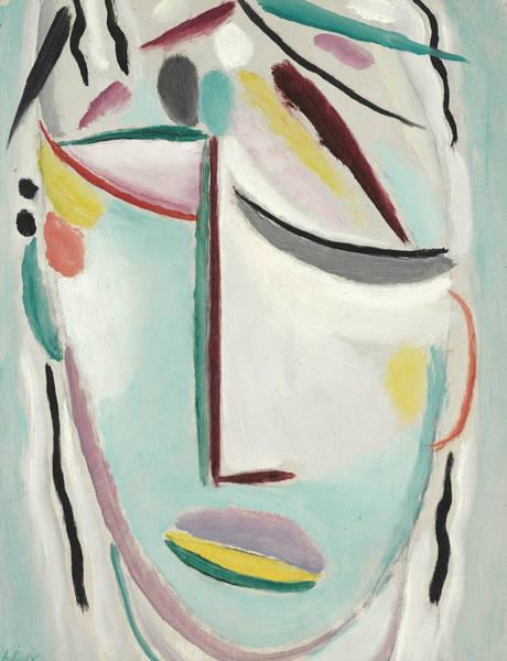 Munich Painting - Saviour's Face Martyr by Alexej von Jawlensky