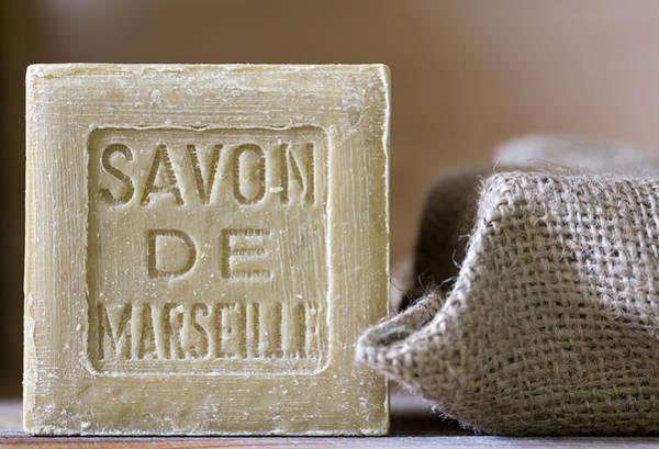 Olive Oil Photograph - Savon De Marseille by Frank Tschakert