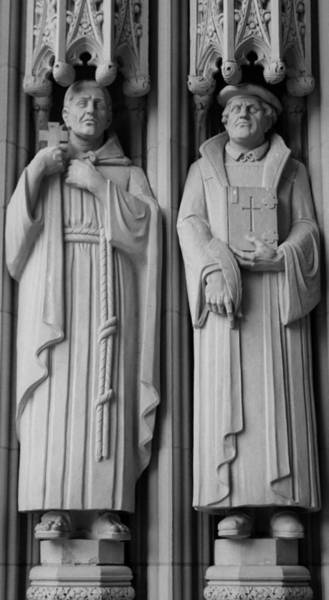 Photograph - Savonarola And Luther by Cynthia Guinn