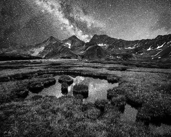 Photograph - Sawatch Stars by Aaron Spong