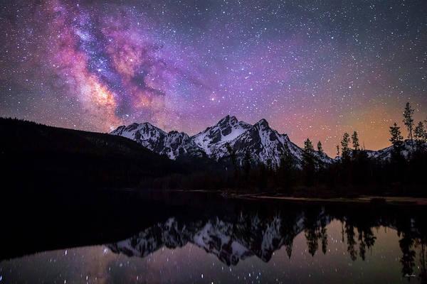 Photograph - Sawtooth Milky Way by Chris Steele