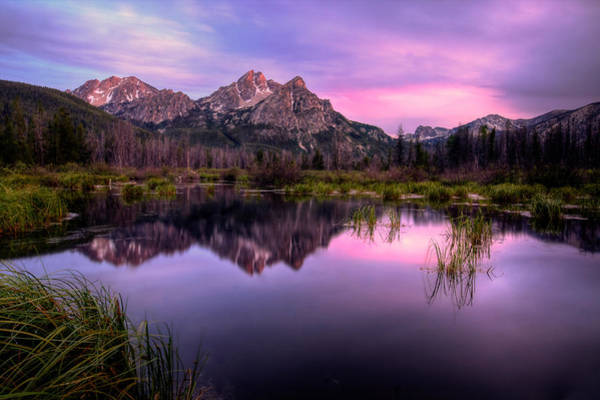 Photograph - Sawtooth Reflections by Ryan Smith