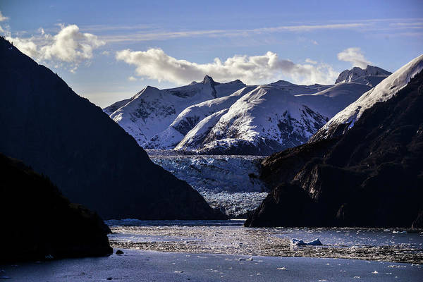 Photograph - Sawyer Glacier In Tracy Arm Fjord by Matt Swinden