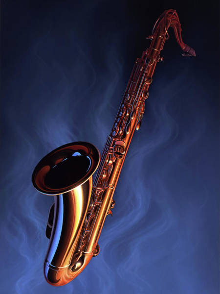 Wall Art - Painting - Sax Appeal by Jerry LoFaro