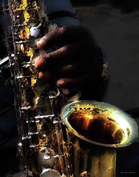 Photograph - Sax by Coleman Mattingly