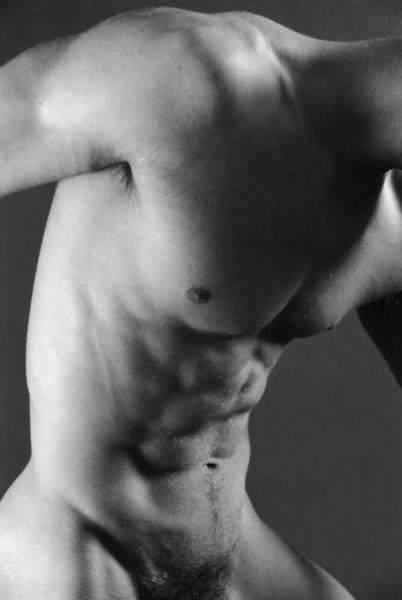 Figure Study Photograph - Sax by Thomas Mitchell