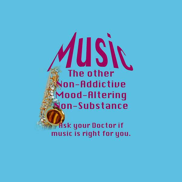 Wall Art - Photograph - Saxophone Music Is Right For You 5494.02 by M K Miller