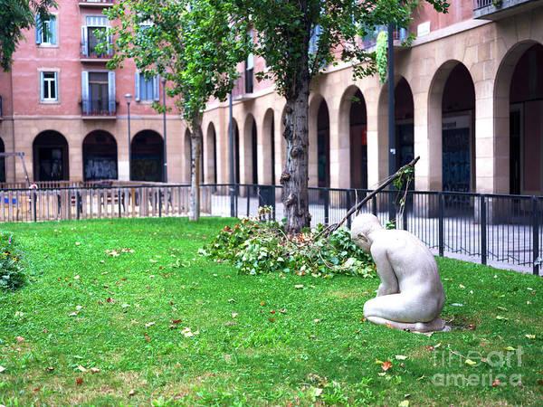 Photograph - Say A Prayer In Barcelona by John Rizzuto