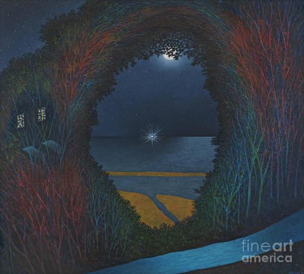 Spark Painting - Saybrook Light by Scott Kahn