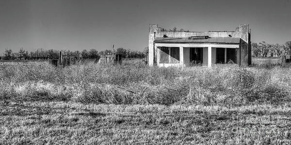 Wall Art - Photograph - Sayre Service Station In Black And White by Twenty Two North Photography