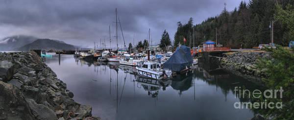Photograph - Sayward British Columbia Panorama by Adam Jewell