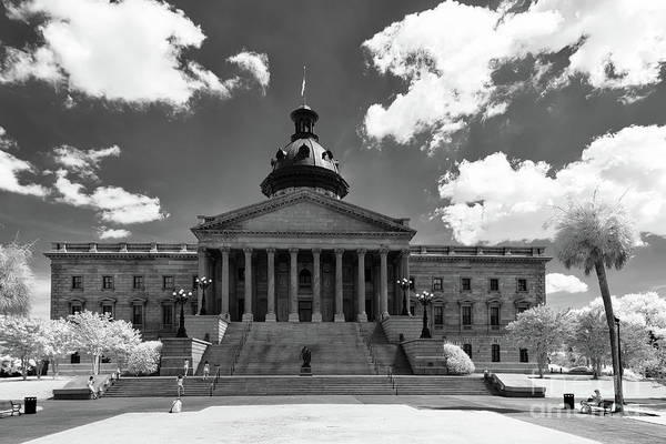 Photograph - Sc State House - Ir by Charles Hite
