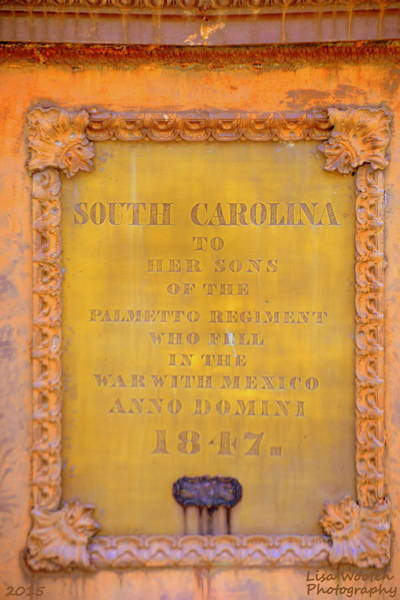 Photograph - Sc State House Memorial 1847 by Lisa Wooten