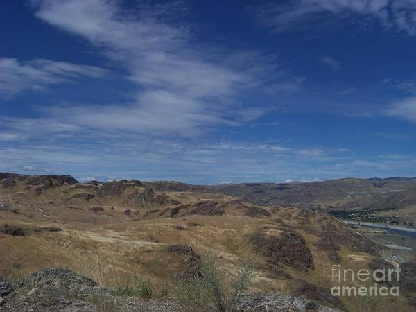 Photograph - Scablands At Grand Coulee by Charles Robinson