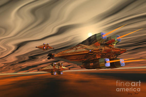 Endless Painting - Scadlands by Corey Ford