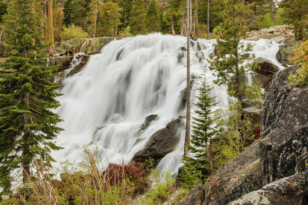 Lightroom Photograph - Scale Of Eagle Falls Inspiration by Mike Herron