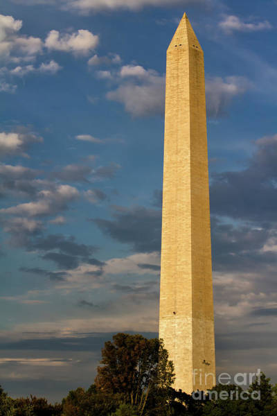 Scaling Photograph - Scaling The Washington Monument by Doug Sturgess