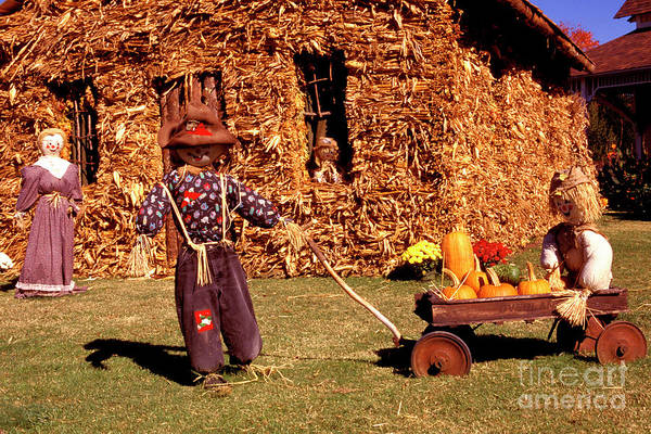 Photograph - Scarecrow Family by Paul W Faust - Impressions of Light