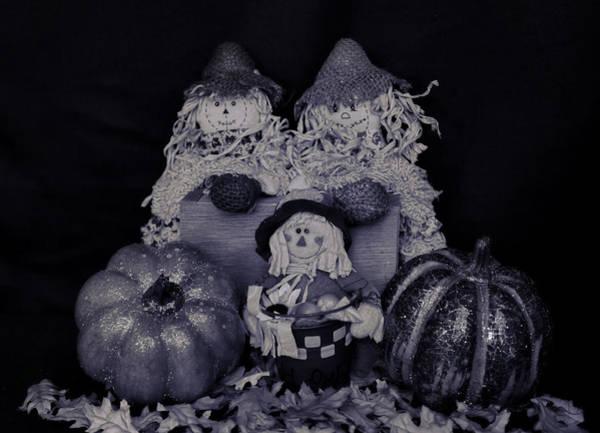 Photograph - Scarecrows by Pamela Walton