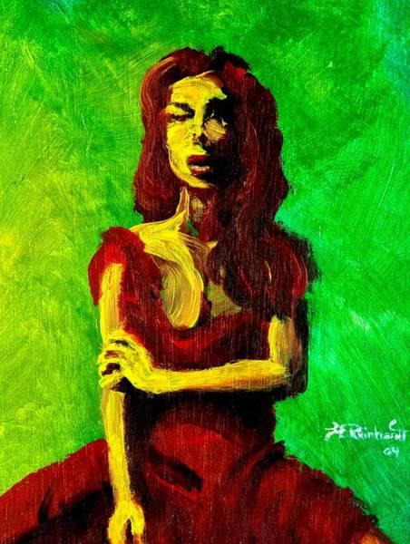 Painting - Scarlet by Jason Reinhardt