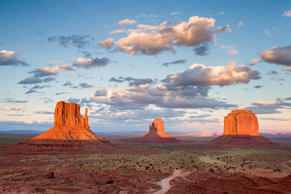 Photograph - Scarlet Monuments by Michael Blanchette