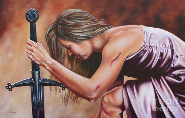 Wall Art - Painting - Scars Of Honor by Ilse Kleyn