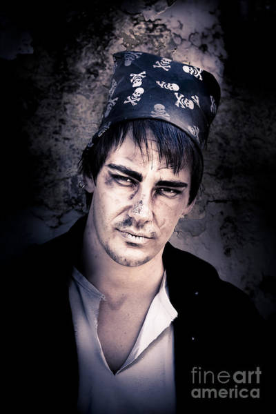 Photograph - Scary Pirate Portrait by Jorgo Photography - Wall Art Gallery