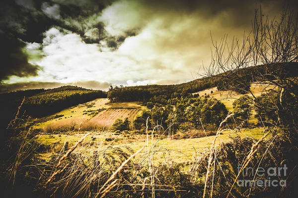 Dreary Photograph - Scary Prairie by Jorgo Photography - Wall Art Gallery