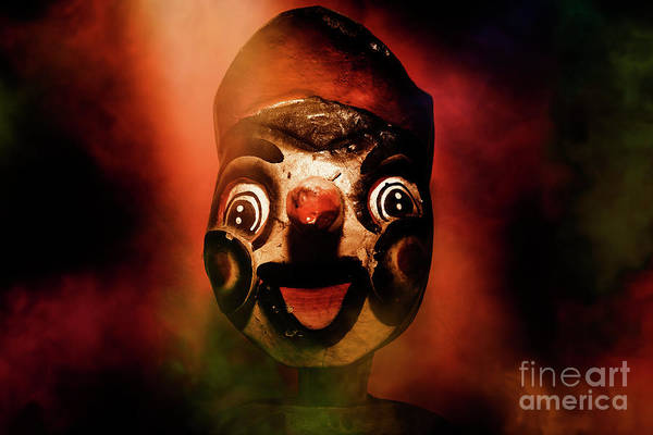 Horrible Photograph - Scary Side Show Puppet by Jorgo Photography - Wall Art Gallery