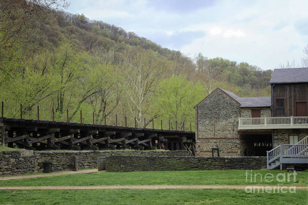 Photograph - Scene At Harpers Ferry by Karen Adams