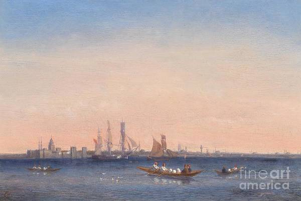 Painting - Scene At The Bosphorus by Celestial Images