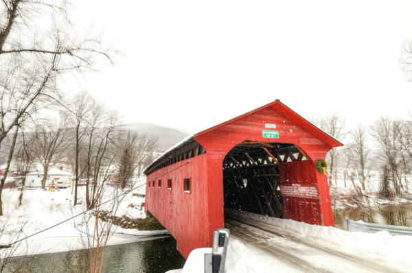 Arlington County Photograph - Scenic America, Winter In Vermont by Bob Cuthbert