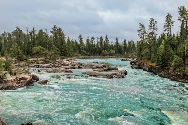Photograph - Scenic Aqua Cascades by Patti Deters