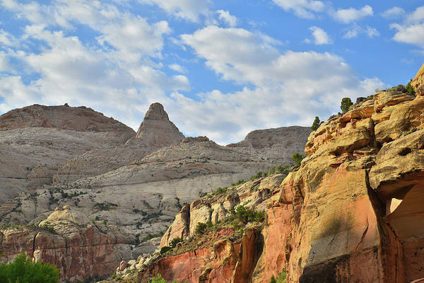 Photograph - Scenic Byway 24 In Capitol Reef by Ray Mathis