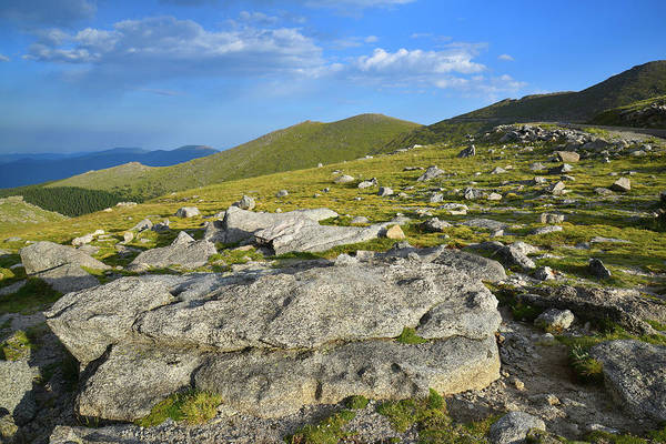 Photograph - Scenic Byway To Mt. Evans by Ray Mathis