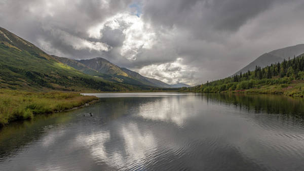 Photograph - Scenic Byways On The Way To Seward, Alaska by Brenda Jacobs