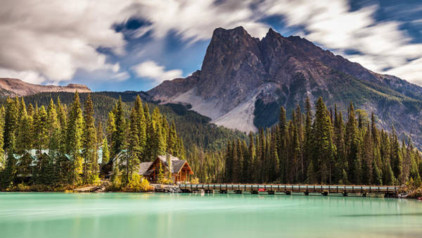 Photograph - Scenic Emerald Lake  by Pierre Leclerc Photography