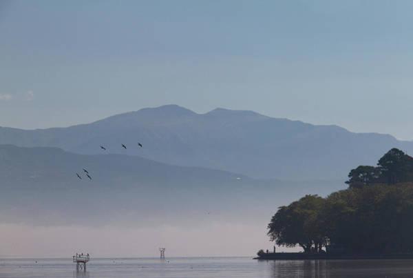 Wall Art - Photograph - Scenic Misty Lake by Iordanis Pallikaras