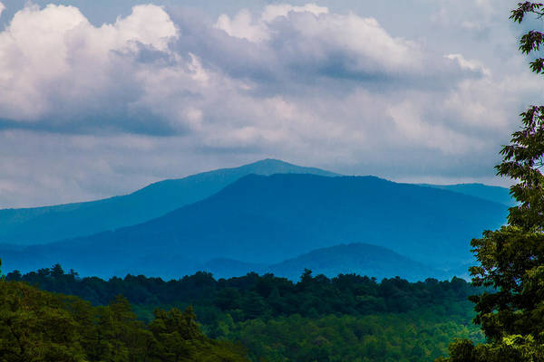 Photograph - Scenic Overlook - Smoky Mountains by Barry Jones