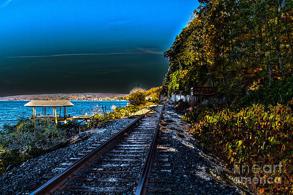Photograph - Scenic Rail  by William Norton