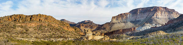 Photograph - Scenic Southwest Mesa Panorama by SR Green