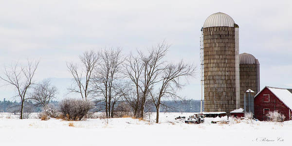 Photograph - Scenic Vermont Farm by Natalie Rotman Cote