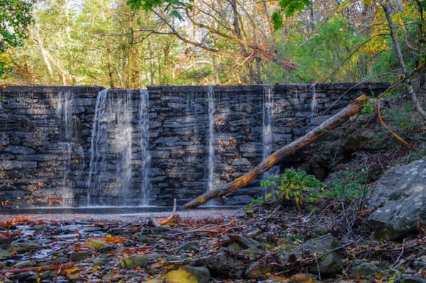 Photograph - Scenic Waterfall - Dove Lake Gladwyne Pa by Bill Cannon