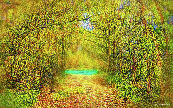 Digital Art - Scent Of Forest Path by Joel Bruce Wallach